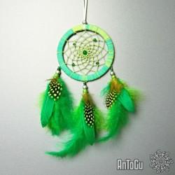 Lapač snů- malý- zelený