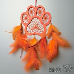 (T)lapač - velký- oranžový