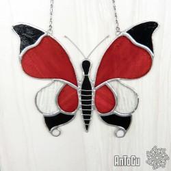 Vitráž- motýl 2