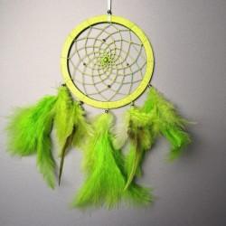 Lapač snů -14cm- zelený