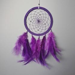 Lapač snů - střední - fialový