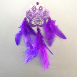 (T)lapač - mini fialový
