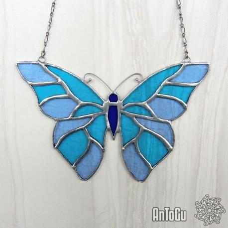 Vitráž- motýl